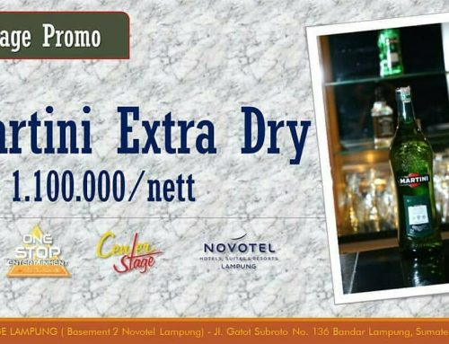 Promo Martini Extra Dry