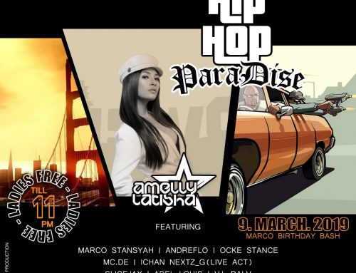 HIP HOP PARADISE Saturday, 9 March 2019