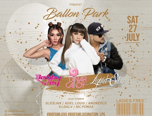 BALLON PARK Saturday, 27 July 2019