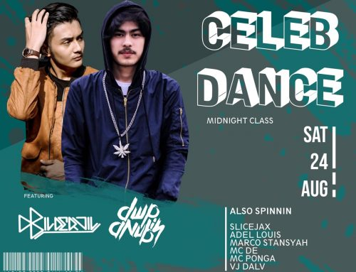 Celeb Dance – Midnight  Class, Saturday 24 August 2019