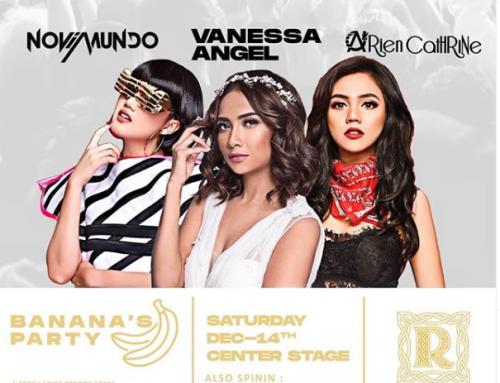 BANANA'S PARTY – Saturday, 14 December 2019